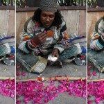 City Moment – The Bougainvillea Eater, Lodhi Road