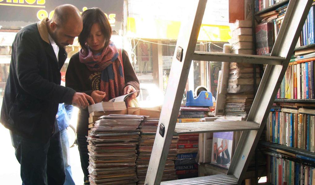 City Landmark – Jackson's Books, Paharganj
