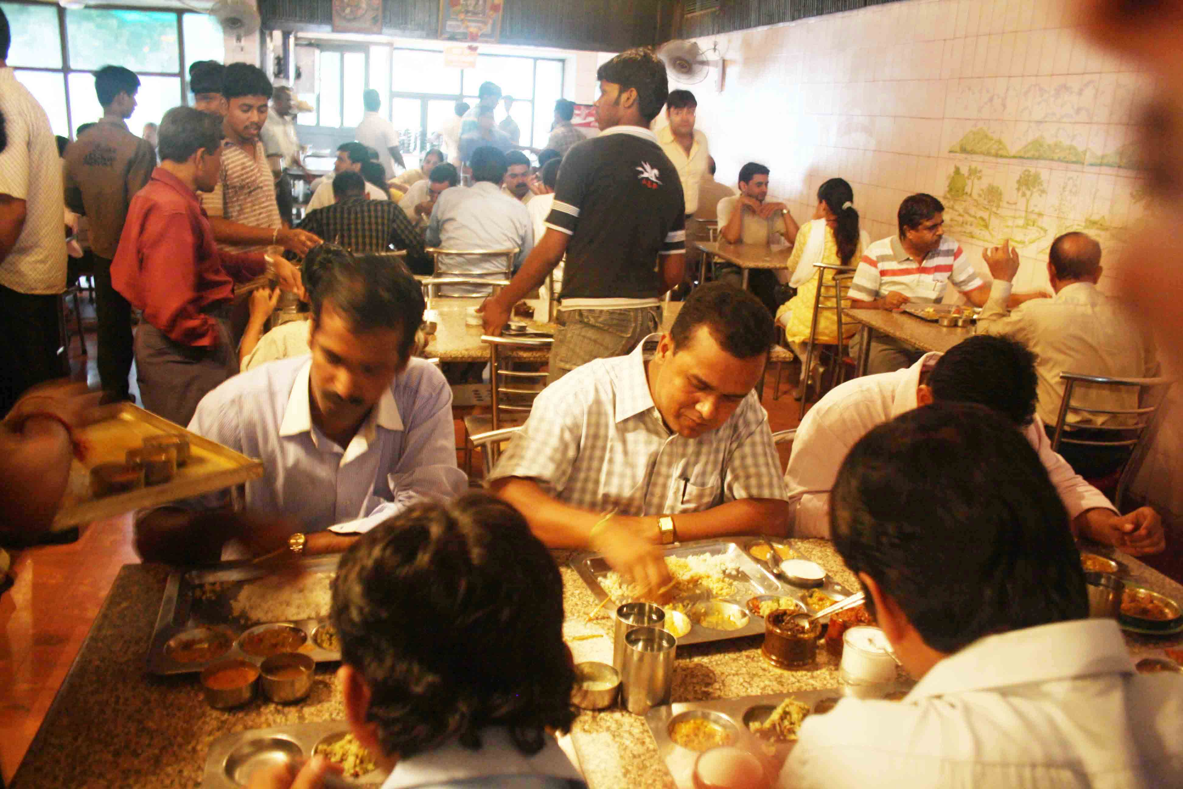 City Food - Telugu Thali, Andhra Bhavan Canteen