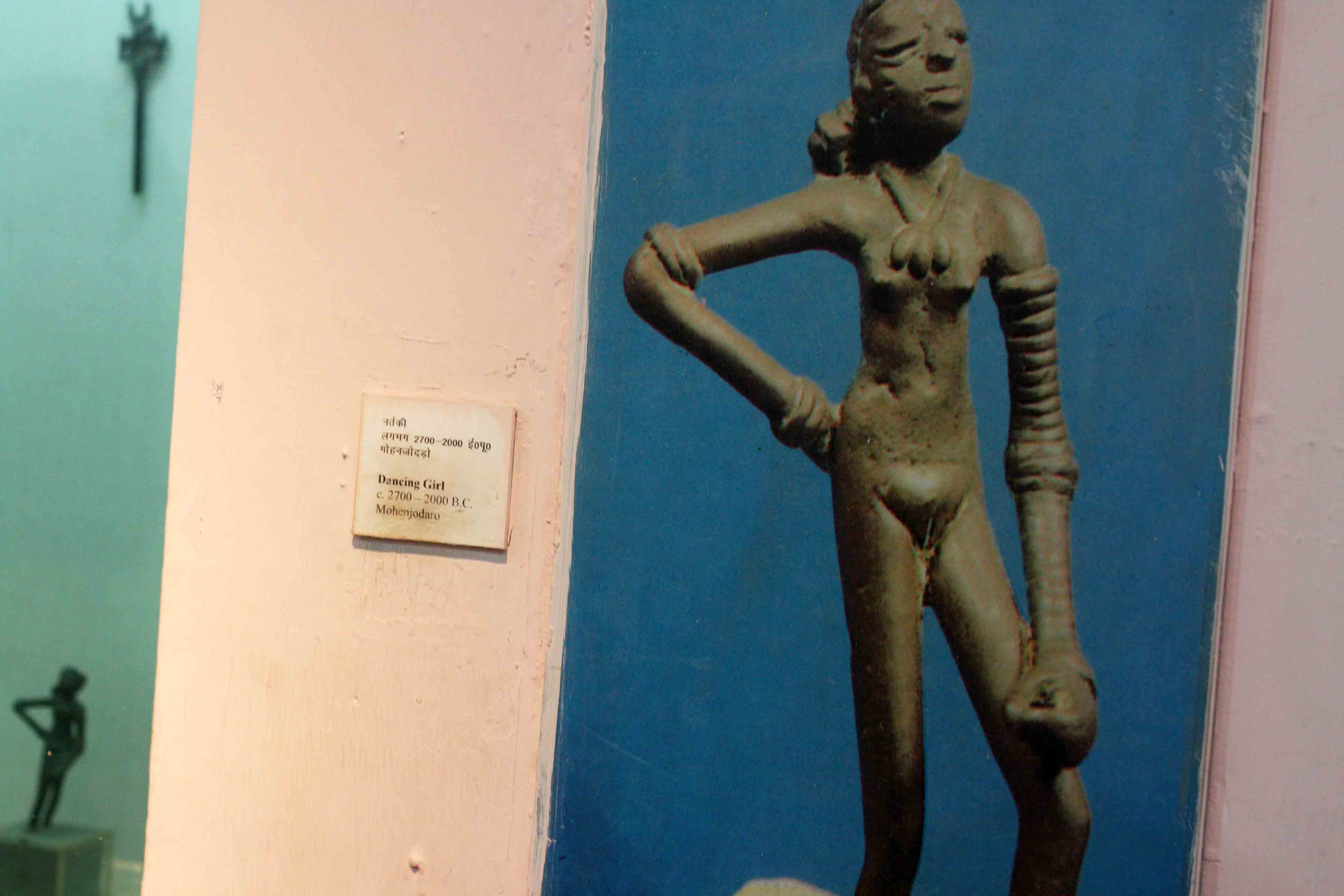 Mapping National Museum – The Dancing Girl, 2500 BC