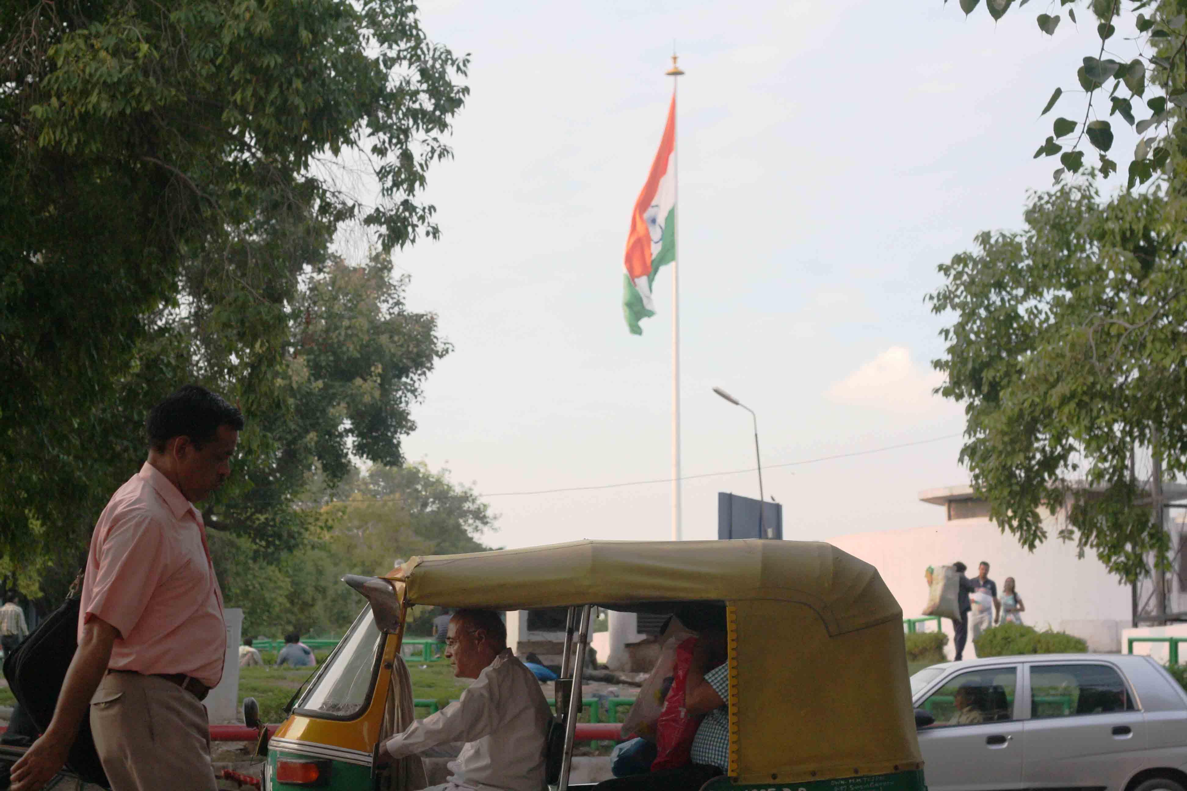 City Landmark - Indian National Flag, Central Park