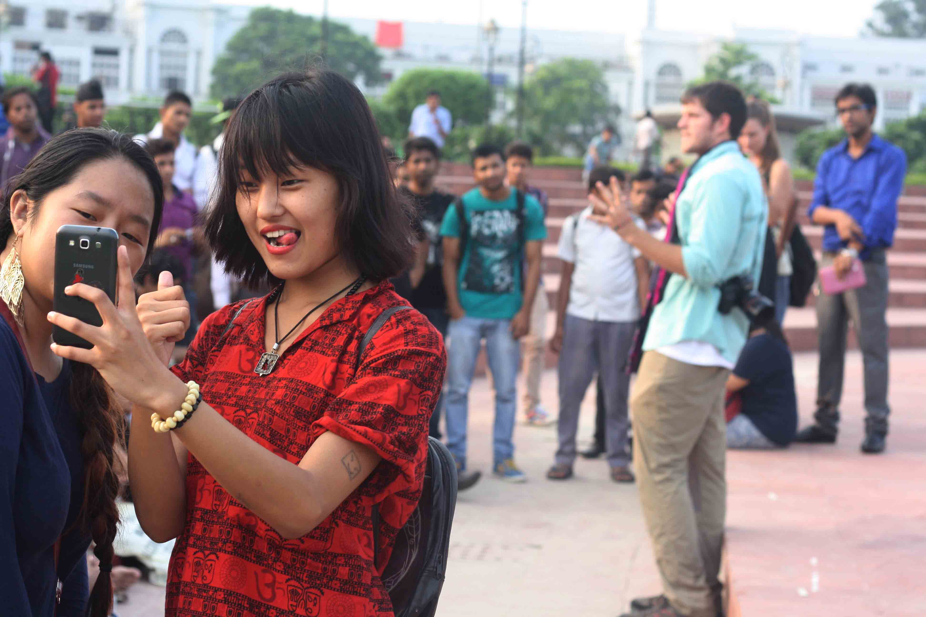 City Sighting - New York's Brandon Stanton & Non-Humans of New Delhi, Central Park