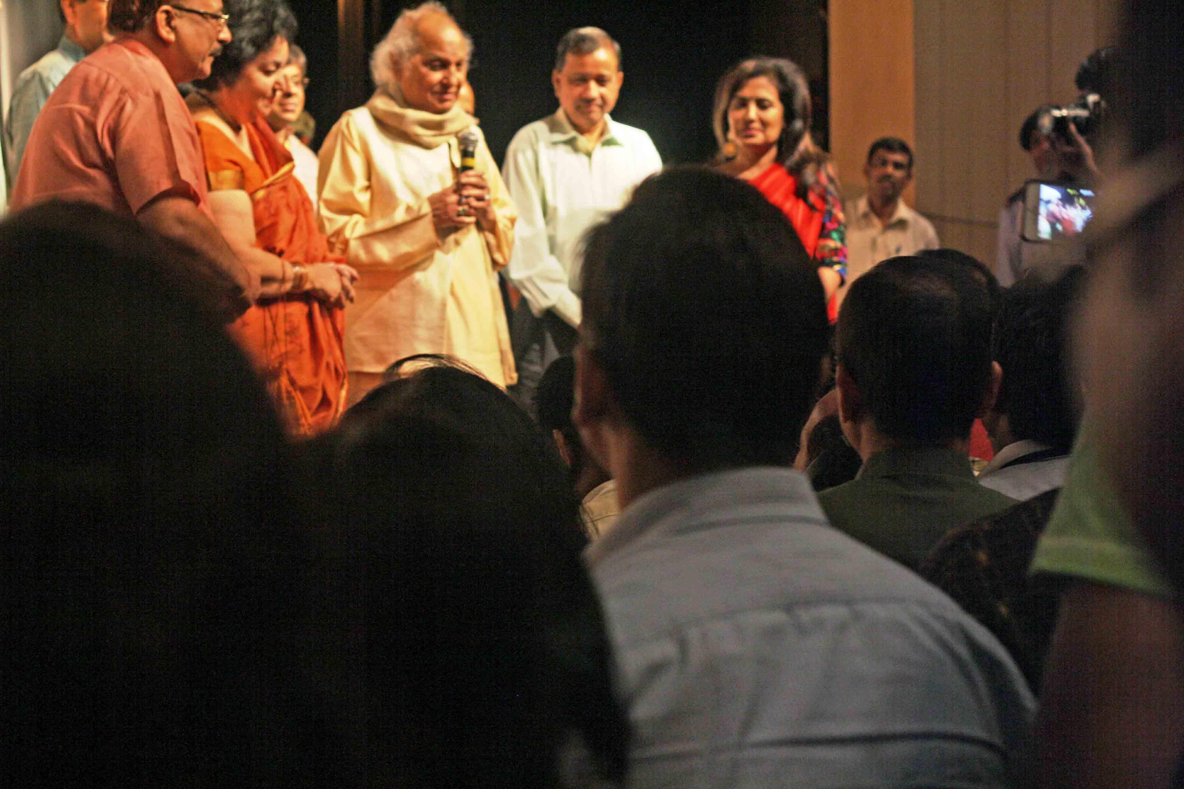 City Moment – Pandit Jasraj's Sighting, Kamani Auditorium