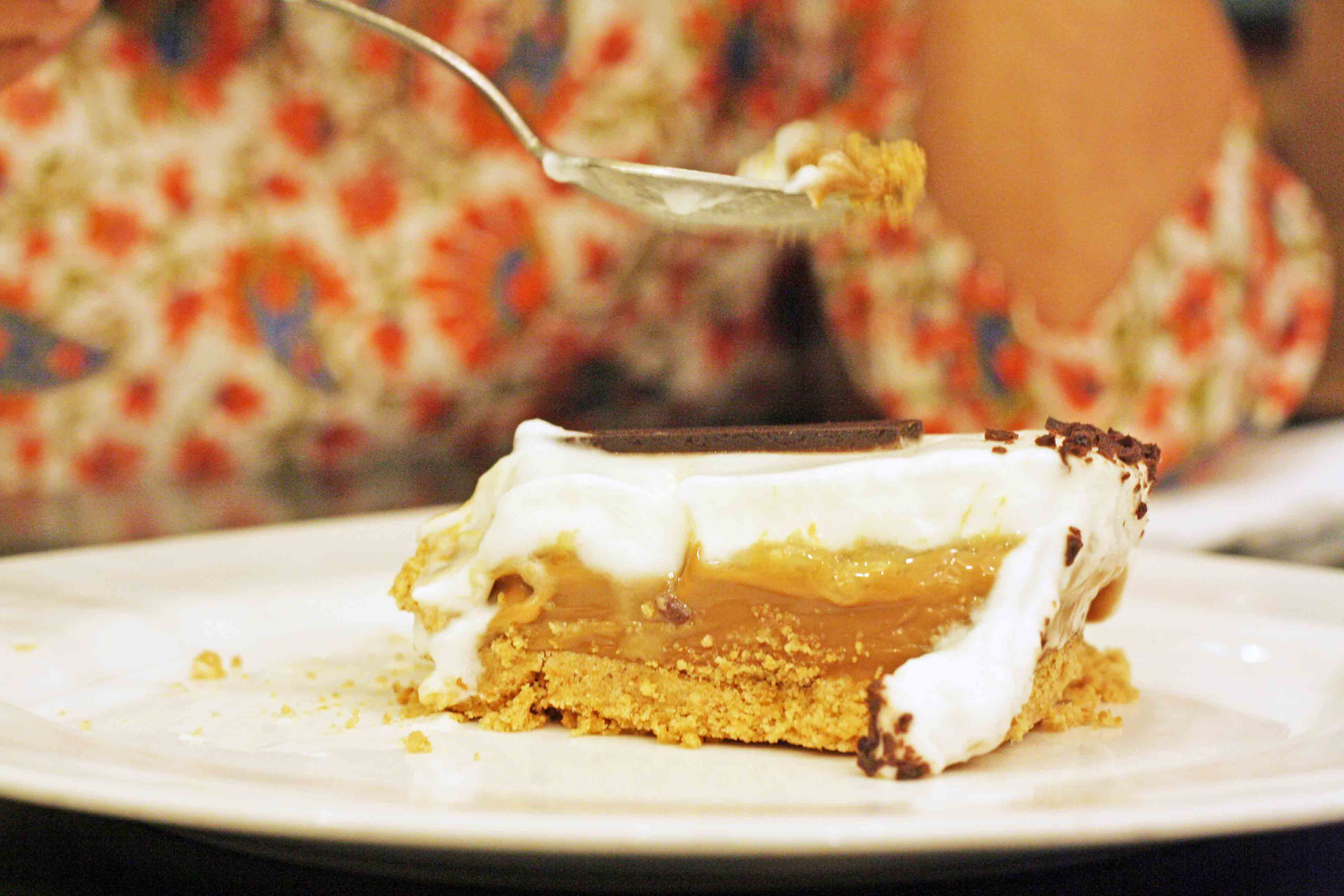 City Food - Banoffee Pie, The Big Chill Café