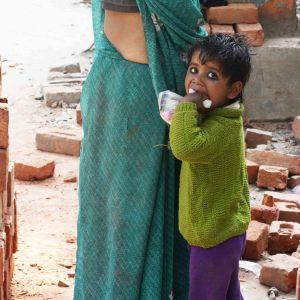 City Moment - Two Daughters, Mayapuri