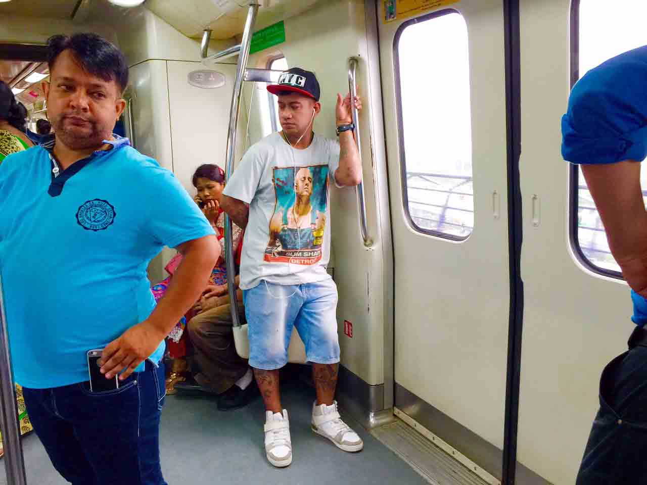 Metro Observed – Inside the Coaches-3, Delhi Subway