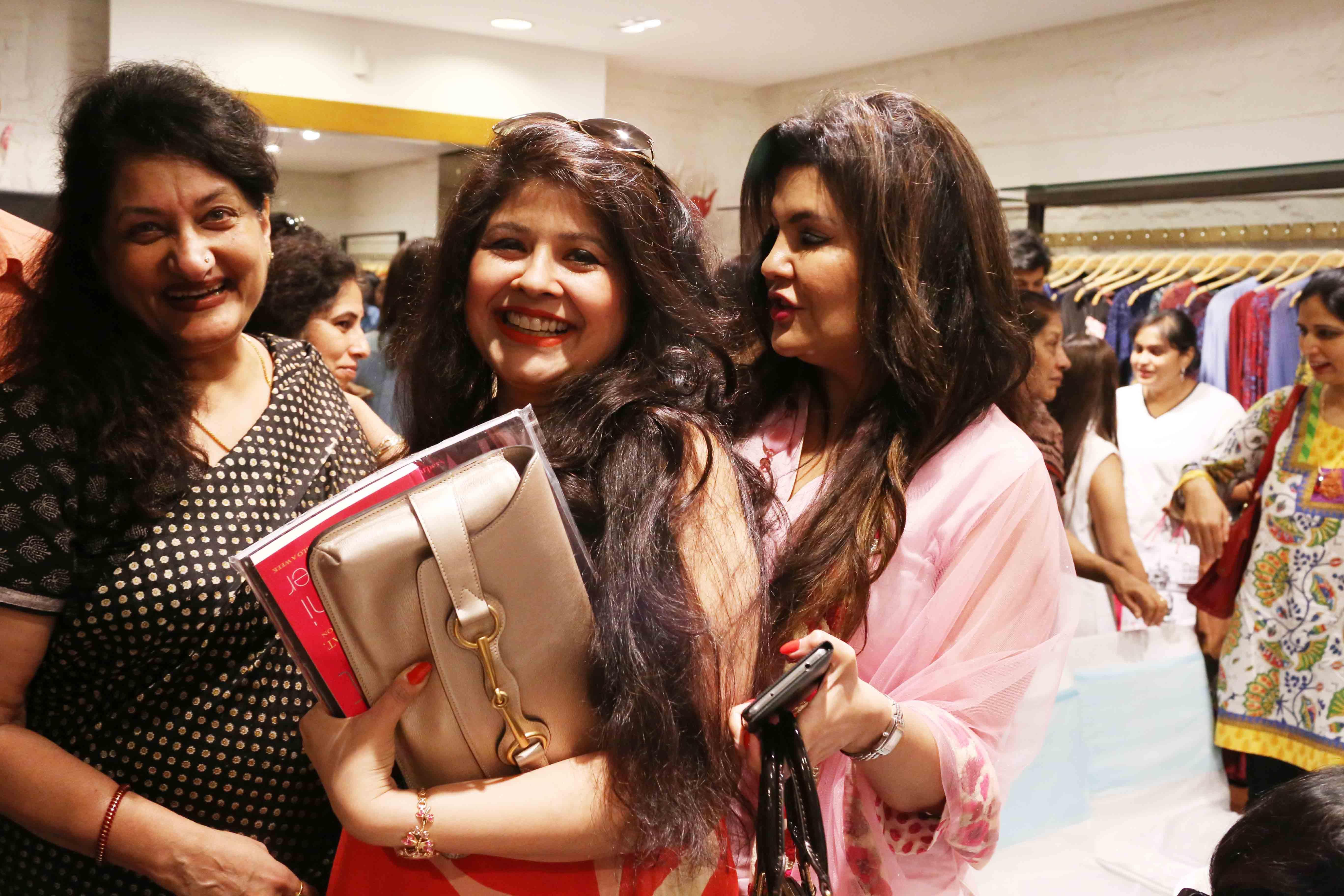 Netherfield Ball – Dietician Nishi Grover's Book Reception, Ritu Kumar Store, Khan Market