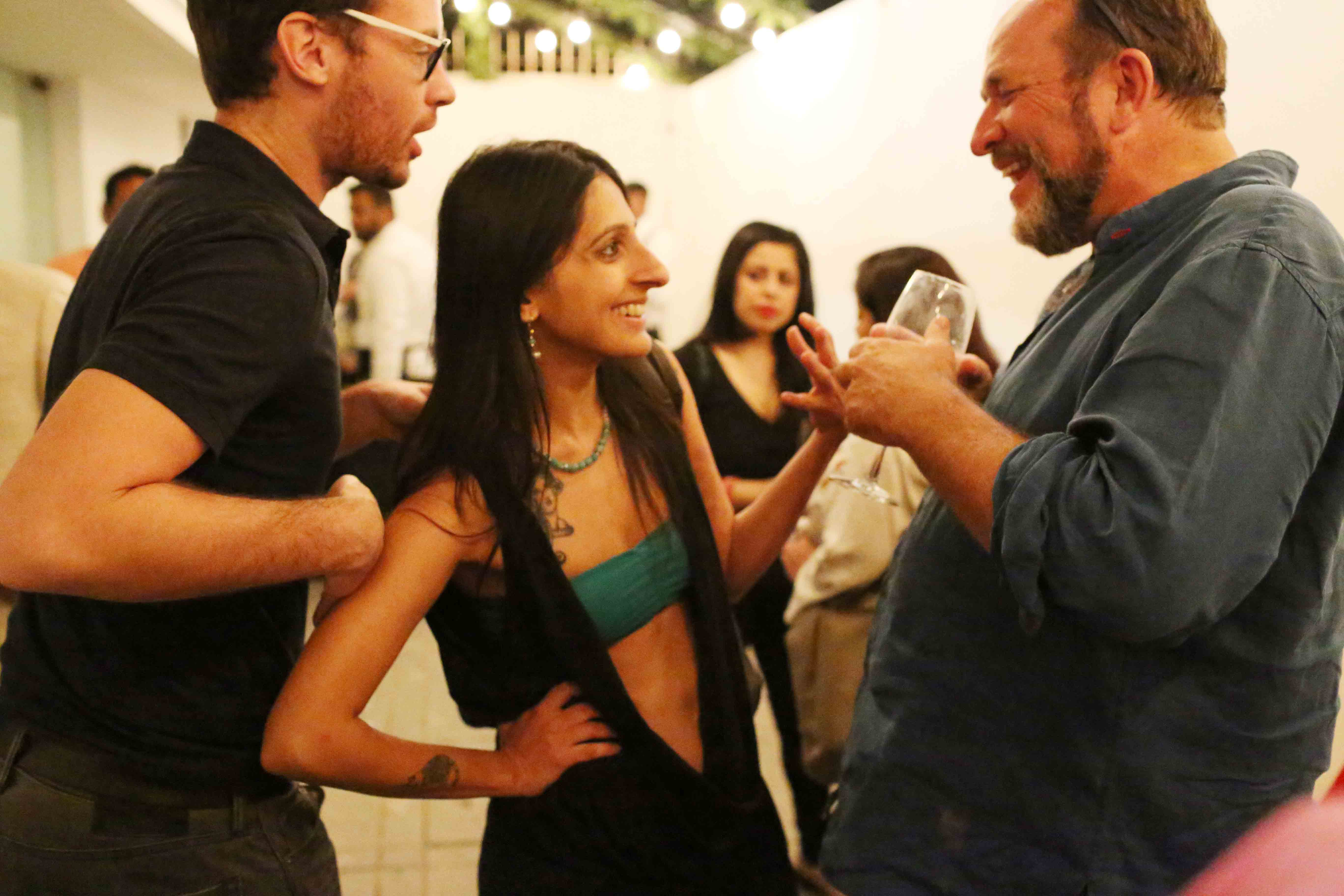 Netherfield Ball – Explosive Clash Averted at William Dalrymple's Opening Bash, Vadhera Art Gallery, Defence Colony