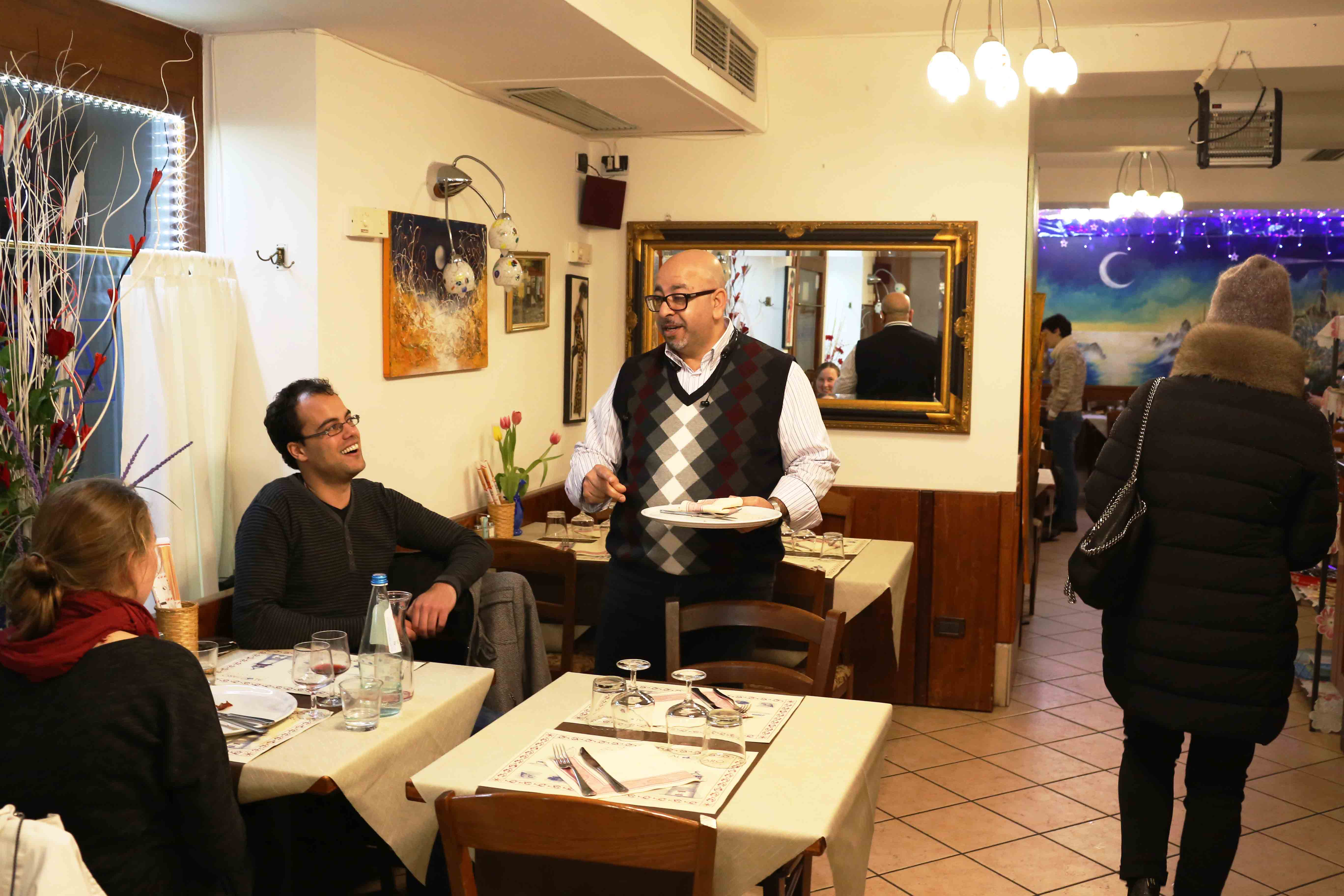 City Food - Youssef Safwat's Pizzeria, Venice Ghetto