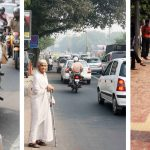 City Style – The Imperial Woman in White, Aurobindo Marg