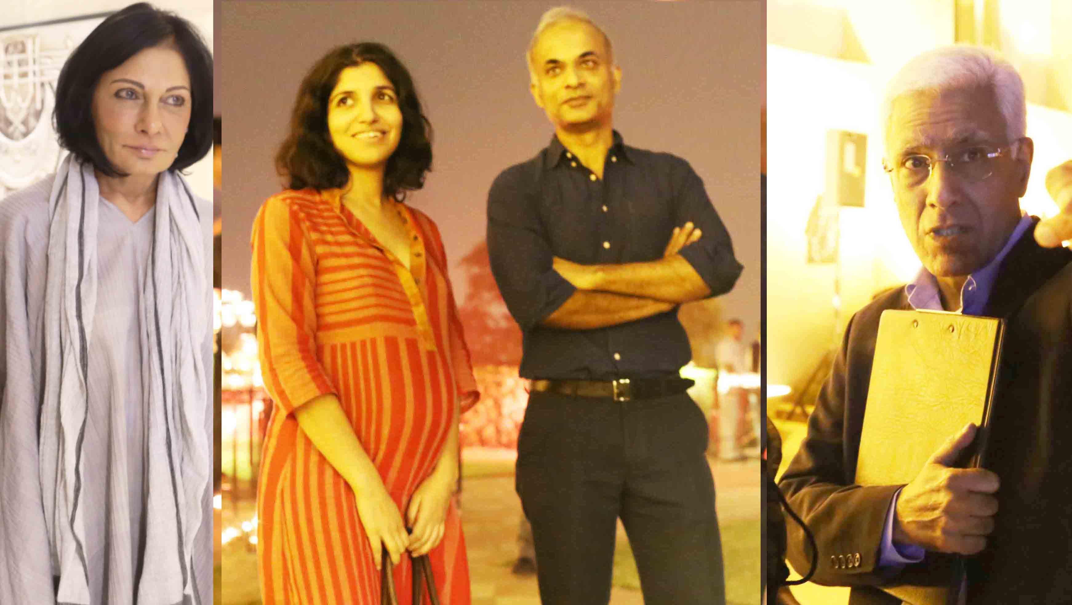 Netherfield Ball – Novelist Manu Joseph, Friend of Publisher Karthika V.K., Seen Cozying Up To Publisher Chiki Sarkar at Shashi Tharoor's Book launch, The Taj Mahal Hotel