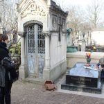 Photo Essay - Stealing a Letter and Doing Pushups at Marcel Proust's Tomb, Père-Lachaise Cemetery, Paris