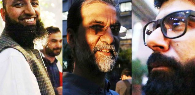 Netherfield Ball – The Invasion of the Bearded Men at Sanjay Kak's Book Launch, India Habitat Center