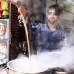City Food - Kashmiri 'Noon' Chai, Around Jama Masjid
