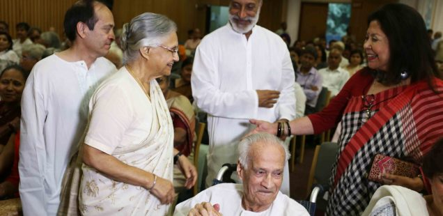 Netherfield Ball – Spotting Retired Justice Leila Seth in Her Memorial Meeting, India International Center