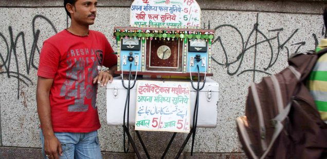 City Life - Meraj's Future Telling Machine, Daryaganj
