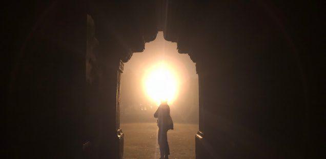 City Monument - Bara Gumbad's Evening Mysticism, Lodhi Garden