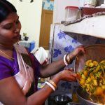 Julia Child in Delhi – Professional Cook Archana Das Cooks the Bengali Panchmishali Subzi in Her Home Kitchen, Chilla Village
