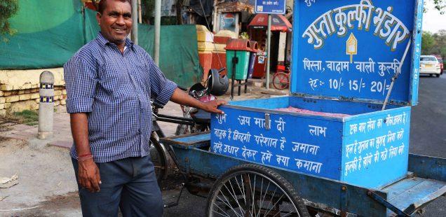 City Food - Guptaji's Poetry Kulfis, Bhogal and Nearby Areas