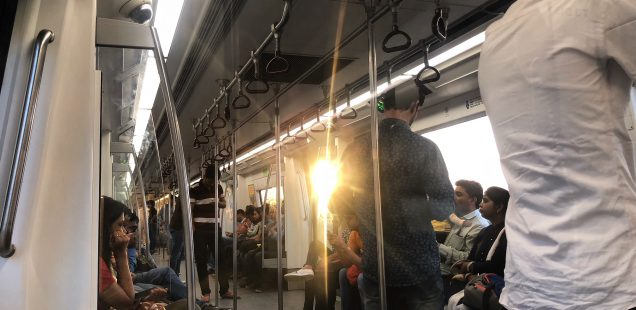 Delhi Metro - The Sunset Journey, Blue Line