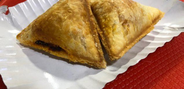 City Food - Chicken Samosa, Maxim's Bakery, Kailash Colony