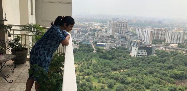 Home Sweet Home - Divya Babu's 30th Floor Balcony, DLF Park Place