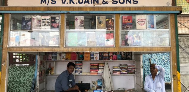 City Hangout - A Railway Station Book Stall, Gurgaon