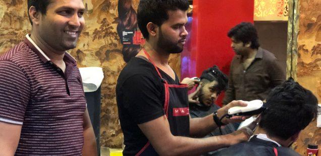 City Landmark - Wali's Hair-Cutting Saloon, Bazaar Chitli Qabar