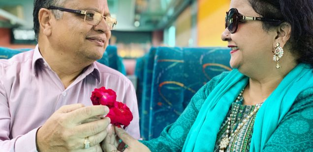 City Moment - Vermas' 32nd Wedding Anniversary, Ajmer-Delhi Shatabdi Express