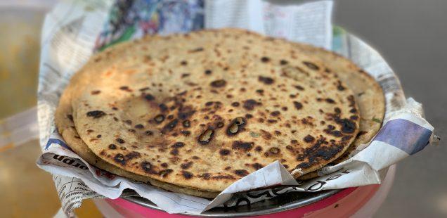 City Food - Aloo Paratha, Barakhamba Road