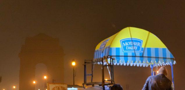 City Hangout - Winter Midnight Ice-Creams, India Gate