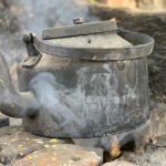 City Food - The Super-Romantic Tea Kettle, Om Shanti Chai Stall, Gurgaon