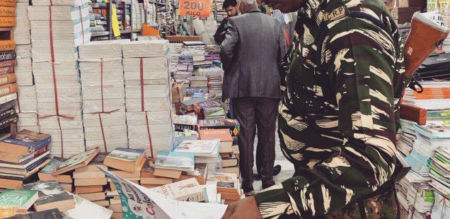 City Moment - Guns 'N Books, Central Delhi