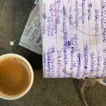 City Food - Tea Stall's Account Book and Chai, Roshanpura, Gurgaon