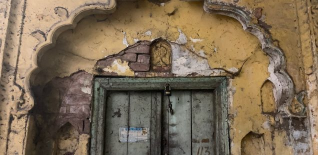City Landmark - A Disappearing Doorway, Hazrat Nizamuddin Basti