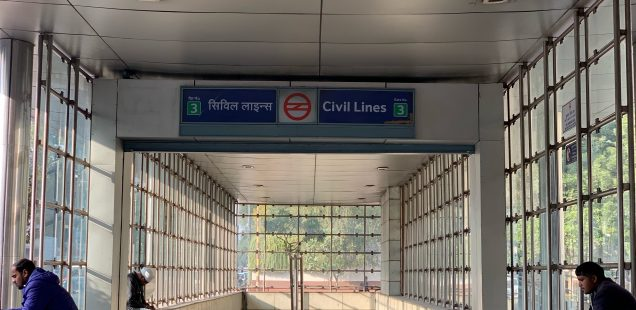 City Hangout - Gate No. 3, Civil Lines Metro Station