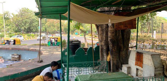 City Faith - Nane Mian's Sufi Shrine, Mandi House Traffic Circle