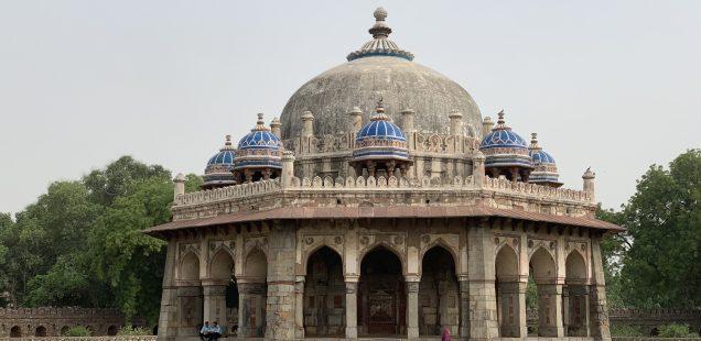 City Monument - Isa Khan's Mausoleum, Humayun's Tomb Complex