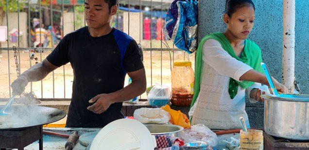 City Food - Netra-Geeta's Stuffed Paratha, Sadar Bazar, Gurgaon