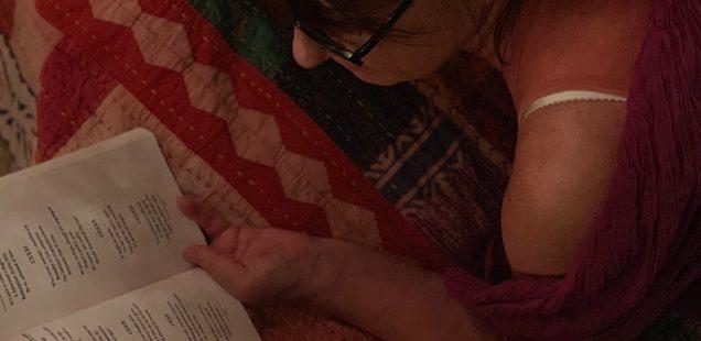 Home Sweet Home - Elena Tommaseo's Reading Bed, East of Kaliash