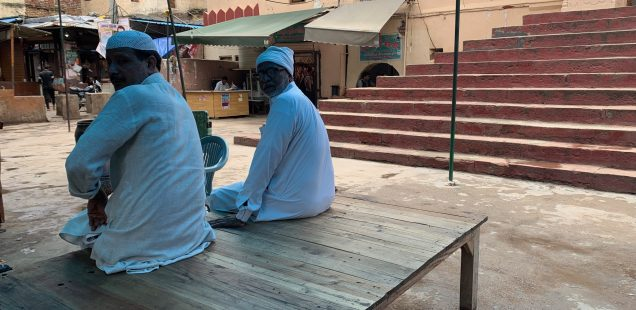 City Life - Wooden 'Takhat' Bed, Outside Jama Masjid, Gurgaon
