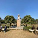 City Monument - Mirza Ghalib's Statue, Jamia Millia Islamia University