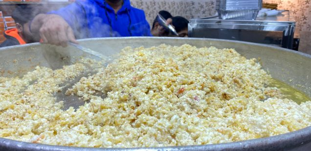 City Food - White Carrot Halwa, Shereen Bhawan