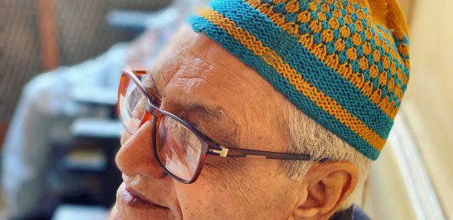 City Life - Haji Fayazuddin's Hand-Knitted Cap, Old Delhi