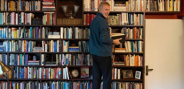 City Library - Shakespearean Jonathan Gil Harris's Books, Hauz Khas