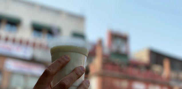 City Food - Salt Lassi, Chandni Chowk