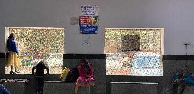 City Hangout - Second Class Waiting Hall, Gurgaon Railway Station