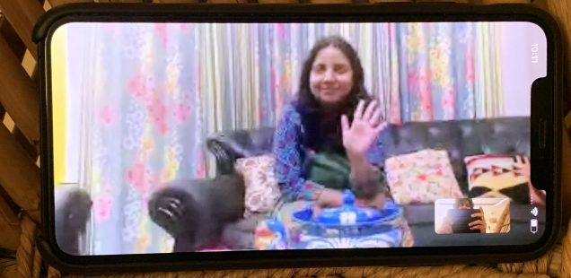 Julia Child in Delhi – Advocate Farah Naaz Makes Her Friend Charu's Upma, Sector 52, Gurgaon