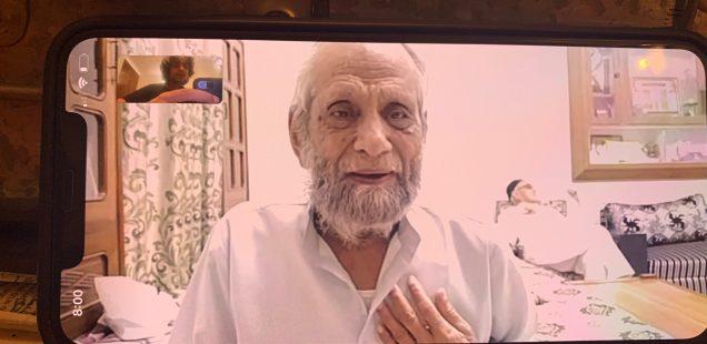 City Moment - Poet Ameer Dehlvi's Post-Pacemaker Life, Chawri Bazar