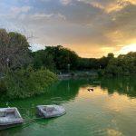 City Hangout - Stranded Boat, Hauz Khas Lake